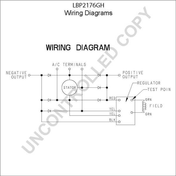 lbp2176gh by leece neville high output alternatorLeece Neville Pad Mount Alternator Wiring Diagram #21