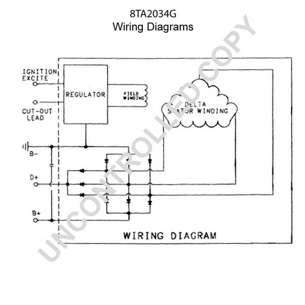 Cute Batteryless Prestolite Alternator Wiring Diagram Photos ...