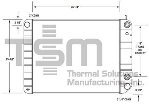 0437346S by THERMAL SOLUTIONS MFG. - Radiator