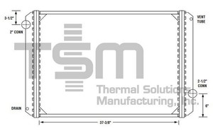 0437114 by THERMAL SOLUTIONS MFG. - Radiator