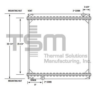 0437105 by THERMAL SOLUTIONS MFG. - CS / BOLT ON TANK