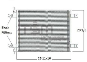 0651001 by THERMAL SOLUTIONS MFG. - A/C Condenser