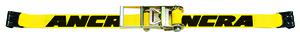 "48987-21 by ANCRA - 3"" x 30' Ratchet Strap w/41766-18 Flat Hooks- 5,400 lbs. WLL"