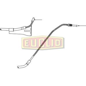 E10646 by EUCLID - HYDRAULIC BRAKE - HOSE