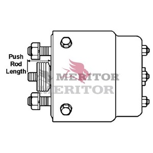 A103261H60 by MERITOR - MERITOR GENUINE - AIR BRAKE - WHEEL CYLINDER ASSEMBLY