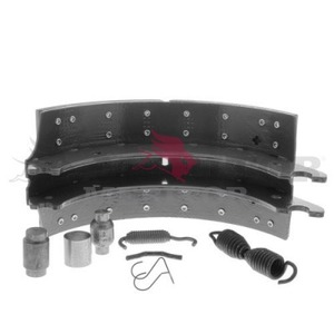 XKMG24719R by MERITOR - BRAKE SHOE - LINED SHOE KIT WITH HARDWARE, REMAN