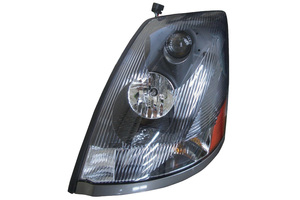 373-1118LXASD2 by MAXZONE AUTO PARTS CORP - Headlight Assembly - Driver Side Left Hand For 04-15 Volvo VN II - DARK LENS