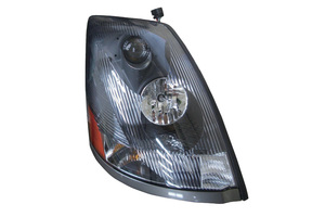 373-1118RXASD2 by MAXZONE AUTO PARTS CORP - Headlight Assembly - Right Hand Passenger Side Fits Volvo VN II, Dark Lens
