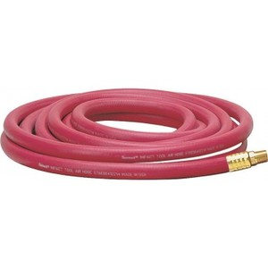 """538-50 by THERMOID HOSE PRODUCTS - HBD Thermoid 0.38"""" x 50' Red Air Compressor Hose"""