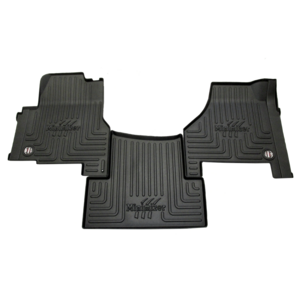 FKINTL1AB-CUSTOM by MINIMIZER - International Automatic /Manual Transmission Floor Mats - International model floormat with Custom label