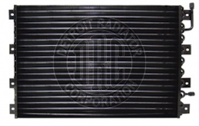 41009 by DETROIT RADIATOR CORP - CONDENSER - Kenworth AC Condenser, T400/T600 Series, Radiator Mounted