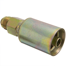 43016U-516 by WEATHERHEAD - Industrial Fittings - Hose End(perm) R12 Str M SAE37