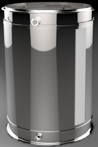 DC1-0030 by DENSO POWEREDGE - PowerEdge Diesel Particulate Filter - DPF for Cummins ISL (Including Gaskets)