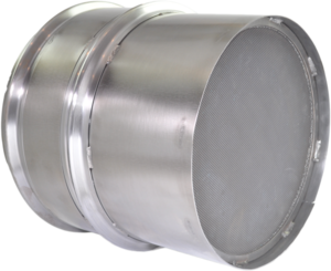 DC1-0057 by DENSO POWEREDGE - PowerEdge Diesel Particulate Filter - DPF for Volvo D13; Mack MP8 (Including Gaskets)