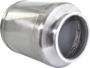 DC1-0064 by DENSO POWEREDGE - PowerEdge Diesel Particulate Filter - DPF for International MaxxForce DT (Including Gaskets)
