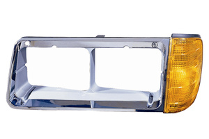 340-1202L-AS by MAXZONE AUTO PARTS CORP - Depo Freightliner FLD Turn Signal Bezel - Driver Left Hand Side