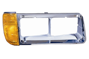 340-1202R-AS by MAXZONE AUTO PARTS CORP - Depo Freightliner FLD W/ Turn Signal Bezel - Right hand