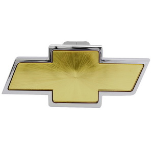 CR-132 by PILOT - Bully - Chevrolet Chrome W/Amber Center Hitch Cover