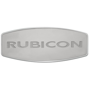 CRB-20 by PILOT - Bully - DUAL LAYER S.S. Hitch Receiver cover RUBICON