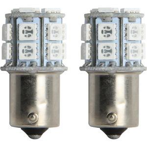 IL-1156B-15 by PILOT - 1156 LED Bulb SMD 15 LED, 2pc kit