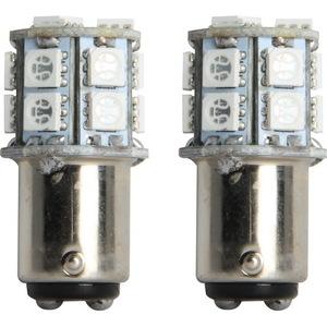 IL-1157B-15 by PILOT - 1157 LED Bulb SMD 15 LED, 2pc kit