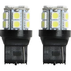 IL-7440W-15 by PILOT - 7440 LED Bulb SMD 15 LED, Whit 2pc kit