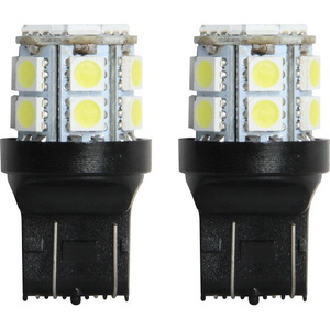 IL-7443W-15 by PILOT - 7443 LED Bulb SMD 15 LED, Whit 2pc kit