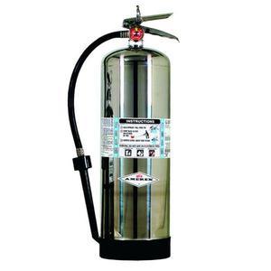 250AX by AMEREX CORP - Amerex® 2.5 gal AFFF Foam Extinguisher w/ Brass Valve & Wall Hook
