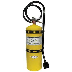 570AX by AMEREX CORP - Amerex® 30 lb Sodium Chloride Extinguisher w/ Brass Valve & Wall Hook