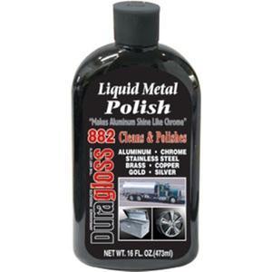 882DG by DURAGLOSS CAR CARE PRODUCTS - DuraGloss® Liquid Metal Polish, 16 oz, 6/Case