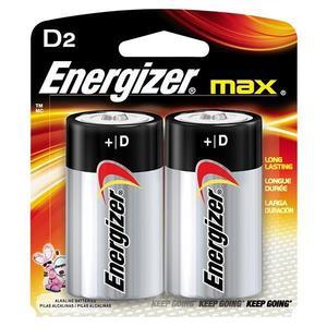 E95BP2EN by ENERGIZER - Energizer® Max® Alkaline D Batteries, 2/Pkg