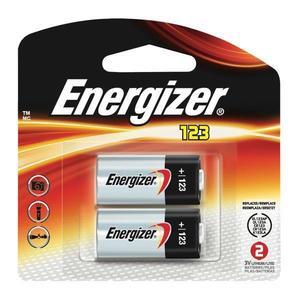 EL123APB2EN by ENERGIZER - Energizer® 123 Lithium Battery, 2/Pkg