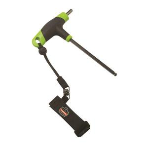 19052EG by ERGODYNE - Ergodyne® Squids® 3115 Wrist Tool Lanyard w/ Pull Cord