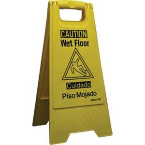 "9152WIP by IMPACT PRODUCTS - ""Wet Floor"" Sign, Bilingual, 10 3/4"" x 24 5/8"""