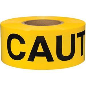 "B3102Y16PR by PRESCO - Presco Barricade Tape, 2 mil, ""Caution"", Yellow"