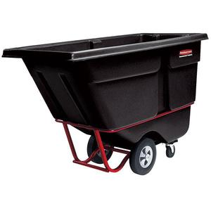 130600BKRM by RUBBERMAID - Rubbermaid® Heavy-Duty Rotational Molded Tilt Truck
