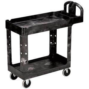 "452088BKRM by RUBBERMAID - Rubbermaid® Heavy-Duty Utility/Service Cart, 45 1/4""L x 33 1/4""H x 25 7/8""W"