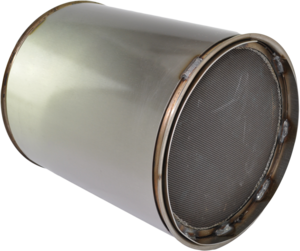 DC1-0042 by DENSO POWEREDGE - PowerEdge Diesel Particulate Filter - DPF for Cummins ISC (Kenworth, Peterbilt) (Including Gaskets)