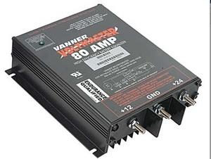 65-80 by VANNER - Vanner, Equalizer, 24 VDC Input, 12 VDC Output, 80A
