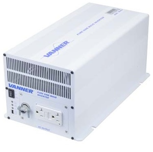 VLT12-2000 by VANNER - Vanner, Inverter, 12 VDC Input, 120 VAC Output, 2000W