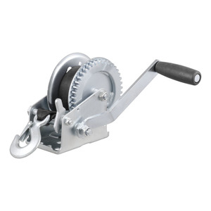 29435 by CURT MANUFACTURING, LLC. - HAND WINCH, 1400 LB CAPACITY, WITH 20' STRAP