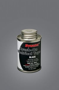 49412 by DYNATEX - Brush On Electrical Tape 4oz Brush Top Can