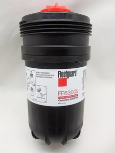 FF63009 by FREIGHTLINER - Fleetguard FF63009, Cummins 5303743 Fuel Filter