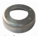 AFA-401 by AMERICAN MOBILE POWER - ALUMINUM WELD FLANGE - Aluminum Fill Adapter, Hydraulic Part