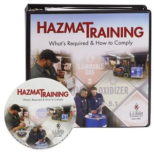 36151 by JJ KELLER - Hazmat Training: What's Required & How To Comply - DVD Training - DVD Training