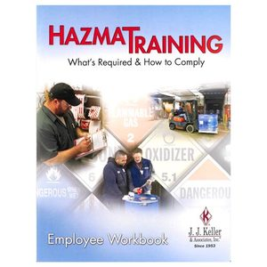 36206 by JJ KELLER - Hazmat Training: What's Required & How To Comply - Employee Workbook - Employee Workbook