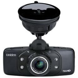 DC3 by UNIDEN - UNIDEN DASH CAM FULL HD GPS W/8GB SD CAR