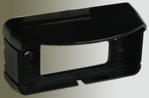 B150097 by PETERSON LIGHTING - Mounting Brackets - Black Bracket