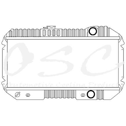 OSC Cooling Products 720 New Radiator