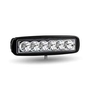 TLED-U97 by TRUX - Universal Single Row LED Spot Work Lamp (6 Diodes | 1080 Lumens)